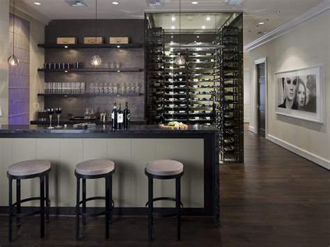 home wine bar design pictures any connoisseur s modern wine cellar designs