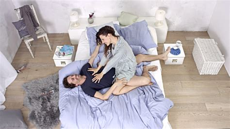 images of love couples in bed extremely good looking love couple having a good time in bed during day stock footage
