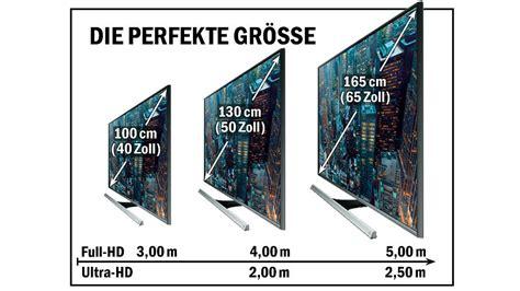 tv größen zoll tabelle kaufberatung die besten fernseher audio foto bild