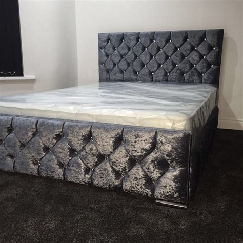 bedroom alluring grey velvet tufted headboard bedroom best 25 tufted bed frame ideas only on pinterest tufted