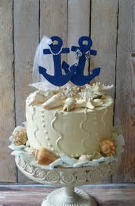 nautical themed wedding cake toppers anchors away wedding cake topper anchors boat wedding cake