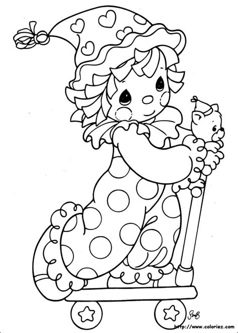 free coloring pages of precious moments halloween