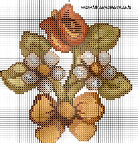fiori a punto croce thun schemi punto croce fiori e bordure thun schemi punto