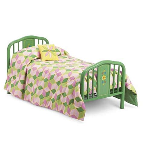 doll bed american girl kit s bed quilt set for 18 quot dolls kit s furniture blanket new ebay