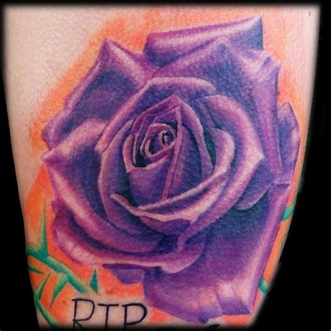 purple tattoo dark water tattoos
