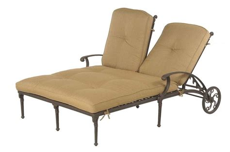 Outdoor Double Chaise Lounge Cushions   PatioPads.com