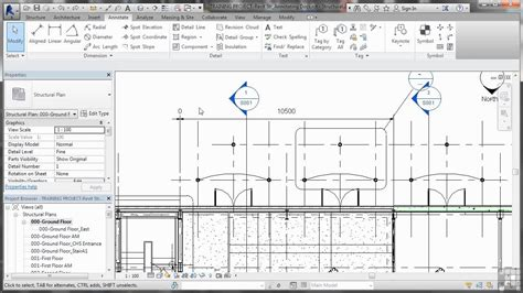 video tutorial revit structure revit structure 2014 tutorial editing dimensions youtube