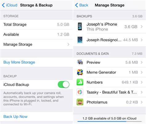Iphone Icloud Backup How To Delete Icloud Backups On Iphone