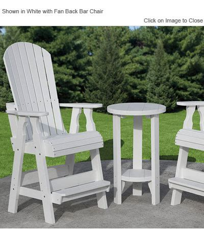 outdoor poly furniture poly concepts furniture bar height