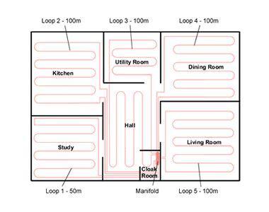 underfloor bathroom heating cost hydronic vs electric floor heating meze blog