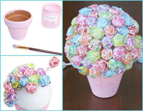 diy lollipop decorations diy lollipop bouquet craft diys and gift
