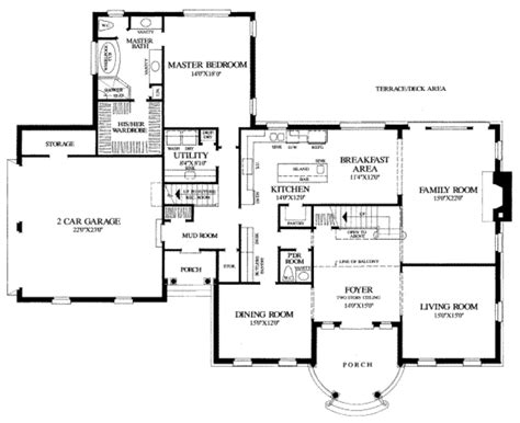 sle house floor plans southern style house plan 5 beds 3 5 baths 3951 sq ft