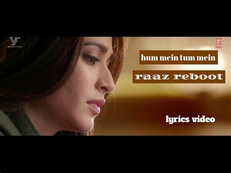 raaz reboot movie full audio album free download raaz reboot hummein tummein jo tha papon palak muchhal