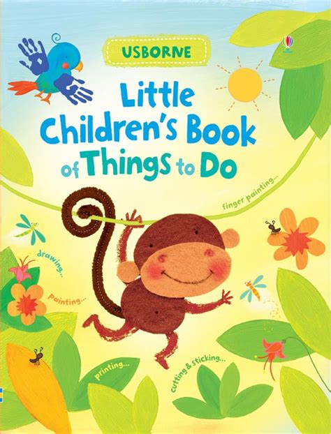 pictures of childrens books children s book of things to do at usborne books