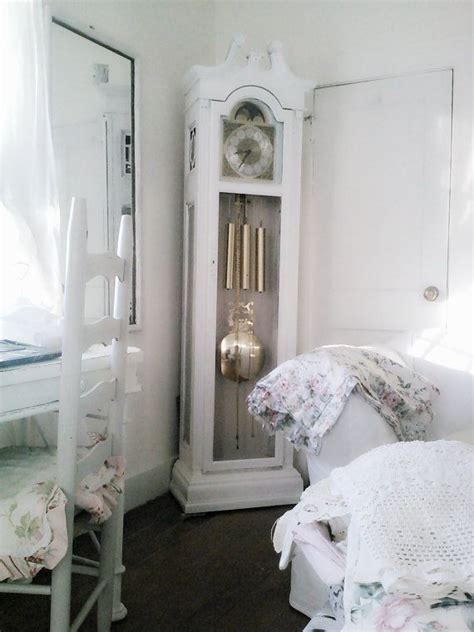 shabby chic grandfather clock vintage shabby emperor grandfather clock by