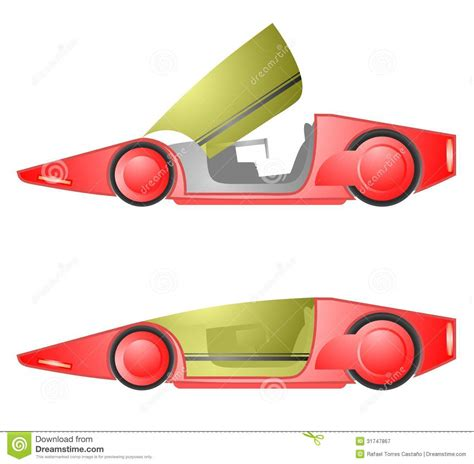 Create Future Reds future car royalty free stock photography image 31747867