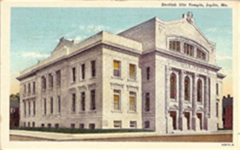 Post Office Joplin Mo by Missouri Postcards Photographs Postal Cards Post Cards