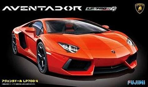 Lamborghini Model Car Kit by Lamborghini Aventador Sports Car Plastic Model Car Kit 1