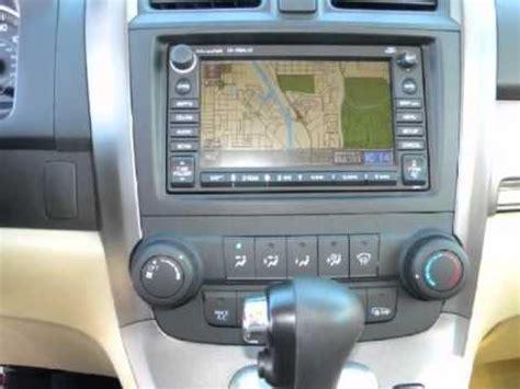 security system 2007 honda cr v navigation system 2007 honda cr v ex l suv leather sunroof navigation youtube