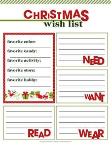 doc 25503300 free christmas wish list free christmas