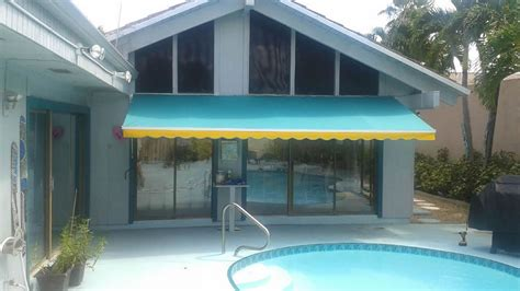 florida awnings photos of awnings patio shades palm beach fl