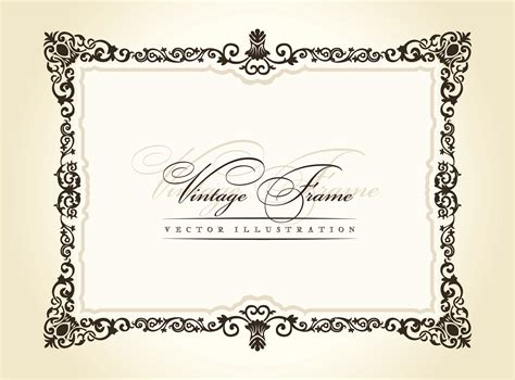 eps format border design free download 20 free vintage vector borders images free vector