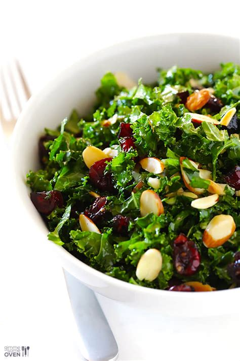 Gimme Some Oven Detox Salad by Kale Salad With Warm Cranberry Vinaigrette Gimme Some Oven
