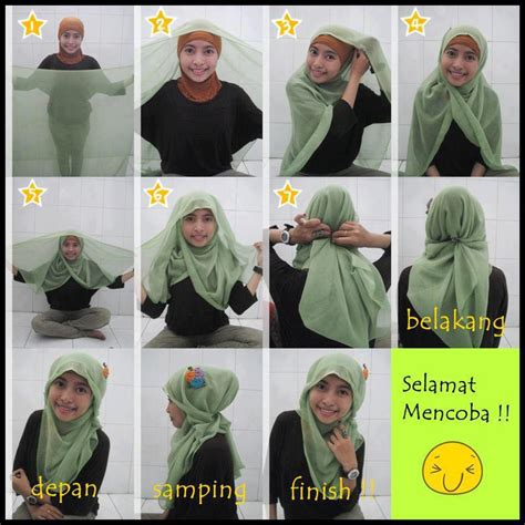 Tutorial Hijab Paris Segi Empat Formal | hijab formal segi empat hijab top tips
