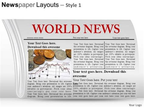 newspaper layout for powerpoint newspaper layout template for powerpoint