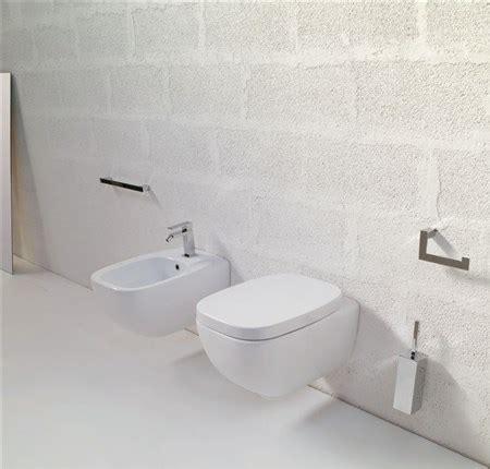 höhe bidet sanitari bagno sospesi