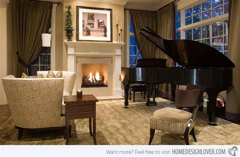 living room music 15 grand piano set ups in traditional living rooms house