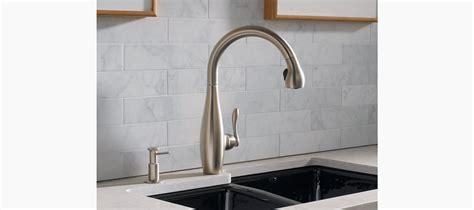 kohler k6920 white clairette kitchen sink faucet clairette single handle spray kitchen sink faucet k 692