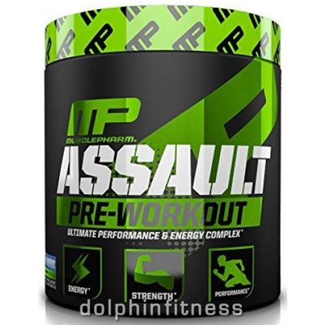 Mp Assault 30 Serving Suplemen Fitnes Pre Workout musclepharm assault pre workout 30 servings