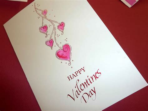 Valentines Day Handmade Card - handmade valentines day cards for friendshandmade