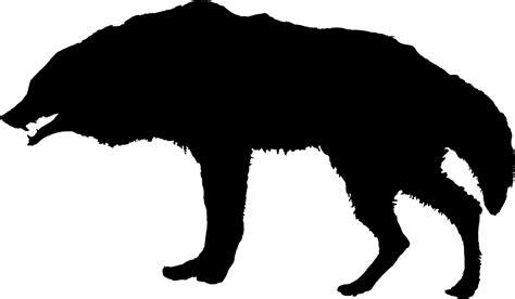 wolf silhouette tattoo wolf silhouette design bild