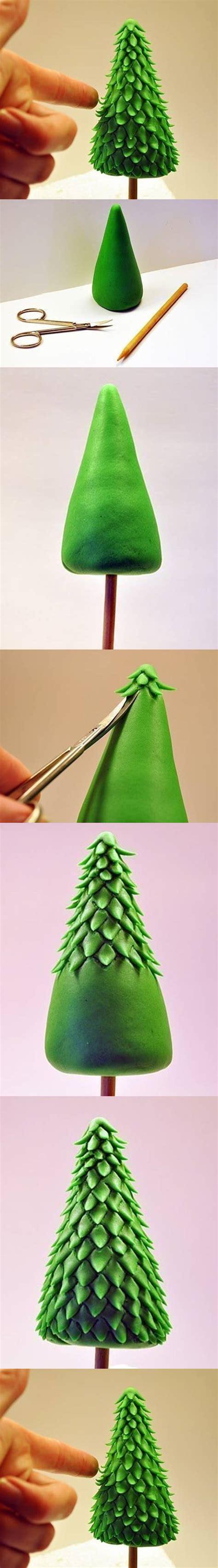 how to make clay christmas tree step by step diy tutorial
