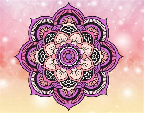 imagenes flor mandala dibujo de mandala flor oriental pintado por agus16san5 en