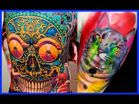 easiest tattoo colors to remove the best color tattoos colorful tattoos