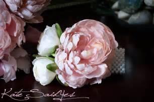 corsage wristlet wedding corsage pink peony wristlet corsage by katesaidyes