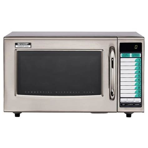 Microwave Sharp Second sharp r 21lvf 1000 watt commercial microwave oven