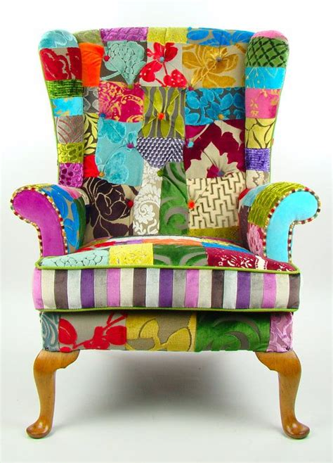ohrensessel sofa 25 best ideas about ohrensessel patchwork on