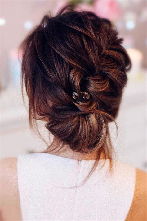 Wedding Hairstyles For Bridesmaids With Hair by 17 Best Ideas About Updo Hairstyle On Wedding