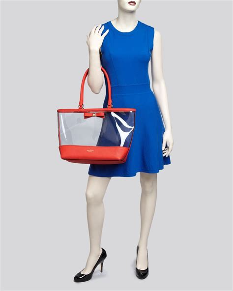 Kate Spade Raleigh Suede Francis Bag by Lyst Kate Spade New York Tote Clear Francis
