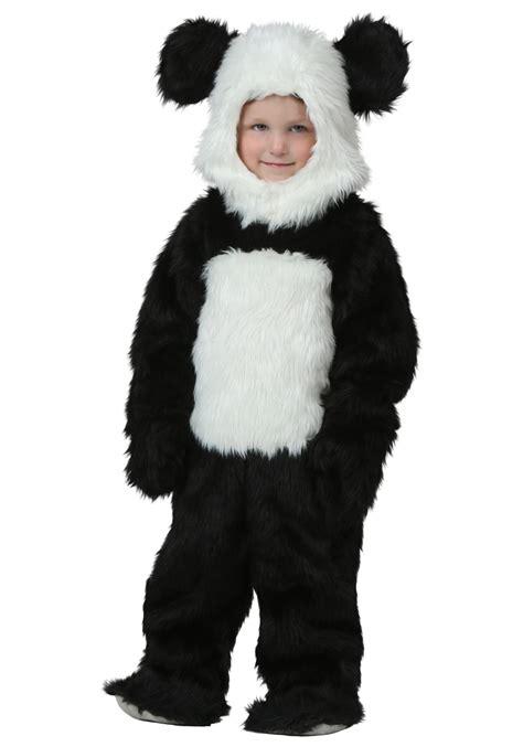 Panda Costume by Toddler Deluxe Panda Costume