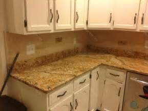 Backsplashes For Kitchens With Granite Countertops Mac S Before Amp After Solarius Granite Countertop