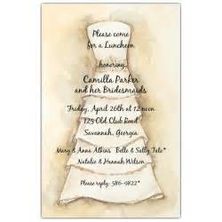 invitations for bridal luncheon bridesmaids luncheon invitations paperstyle
