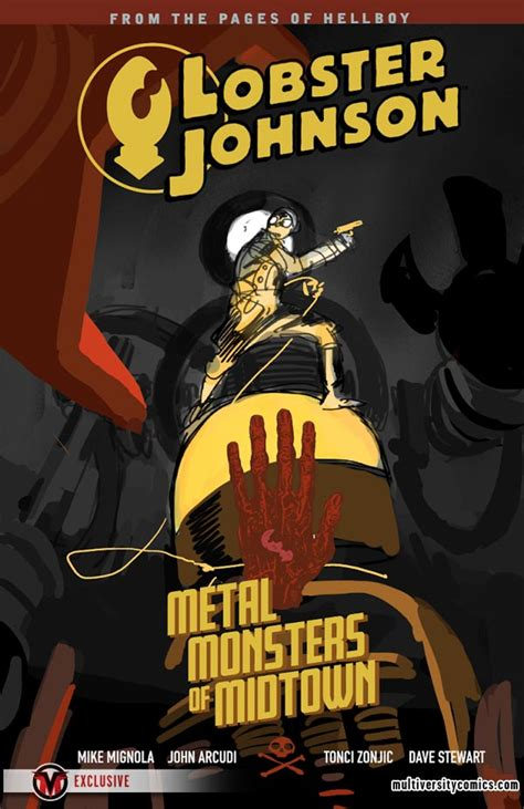 mignolaversity tonci zonjic reveals lobster johnson volumes 5 and 6 multiversity comics