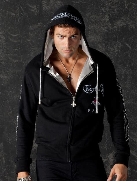Hoodie Jaket Rock N Roll hoodie metal logo glam rock clothing wear rock n roll