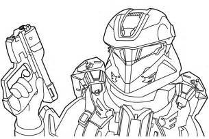 Halo Reach Falcon Colouring Pages sketch template