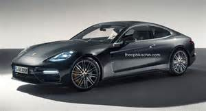 Porsche Panamera Coupe Porsche Panamera Coupe Looks The Part Probably Won T Happen